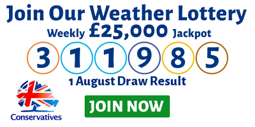 Play the Meon Valley Conservative's Weather Lottery