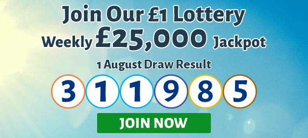 Play the Weather Lottery. £25,000 jackpot!
